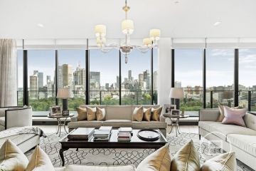 The luxury Melbourne apartment that just got $10 million cheaper