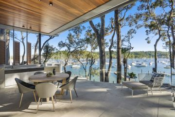 Take a peek inside an incredible waterfront property on Sydney's coveted Pittwater