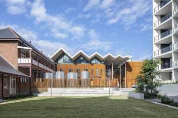 New library to open on site of the old Marrickville hospital