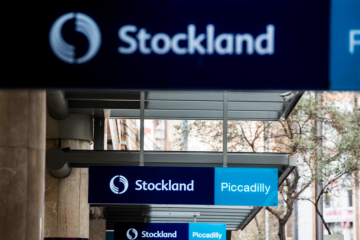 Stockland in at Piccadilly, out of the Glasshouse