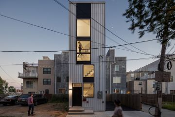 The skinny house built on a tiny site that was once a car park