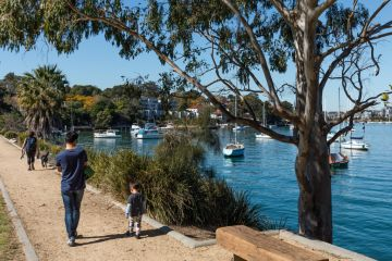 The suburb with the charm of Hunters Hill, minus the price tag
