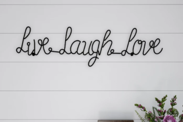 Live, Laugh, Love: Where this ubiquitous trend actually came from