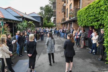 Opening bid of $6m as developers compete for adjacent Sydney blocks