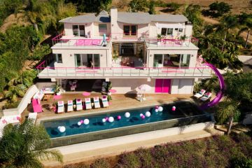 Inside a real life Malibu Barbie Dreamhouse: The pinkest of pink palaces
