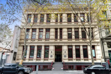 Legal eagle signs up at historical Melbourne building