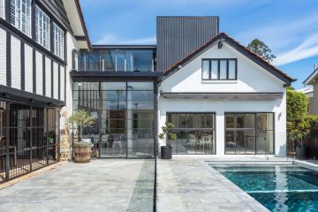 Inside a Tudor home beautifully enhanced for modern luxury living
