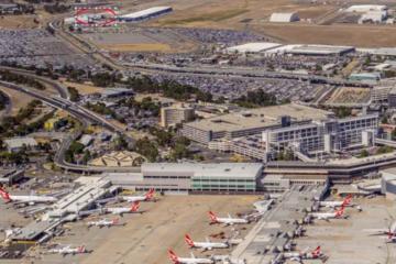 Amazon Flexes at Melbourne Airport