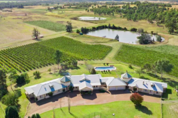 Blackwall director Robin Tedder lists Hunter Valley vineyard