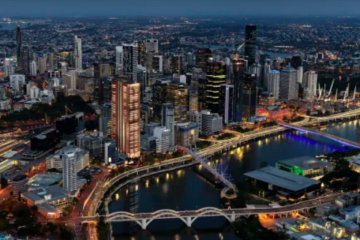 Cbus Property plots Brisbane tower