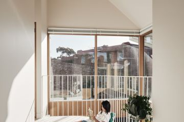 A balcony indoors? The gloomy Melbourne terrace extended for light, space and teenagers