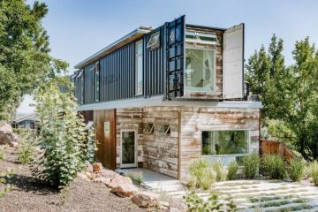 'A work of art: Inside a $4.4m custom-built shipping container house