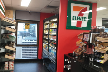 7-Eleven's new high-rise store designed for building tenants only