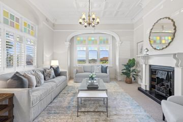 A must-see Queen Anne Federation apartment in a top Mosman area