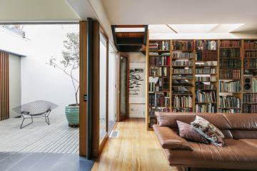 A warm Paddington home redesigned by legendary Australian architect Ken Woolley
