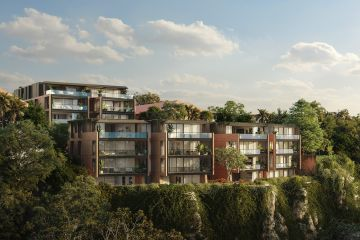 The new dramatic clifftop development coming to Bellevue Hill