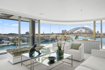 Hotel-living inside the $12 million penthouse atop the five-star Pullman Quay Grand Hotel