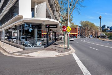 Woolloomooloo shops opposite iconic Finger Wharf on the market