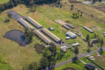 Poultry farm near airport sells as development site