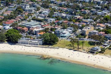 Rare retail site opposite Balmoral Beach on the market