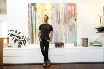 'We instantly fell in love': Inside artist Geoffrey Carran's Jan Juc home