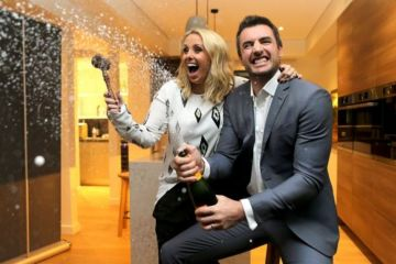 Darren and Dea Jolly's Block warehouse soars $300,000 above reserve at auction