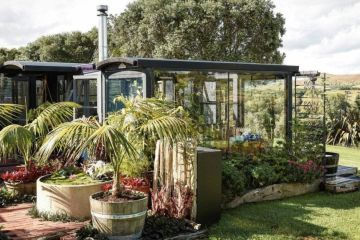 'Why not?': This stylish shed was made out of old bus shelters