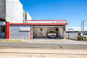 Ambulance building sells for $700,000 above reserve