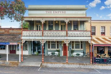 The historic hotel on track to smash town record