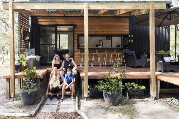 'Can't help but smile': How this family of four cope with living in a tiny house