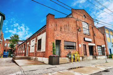 Behind the brick exterior, this building hides an unexpected joy
