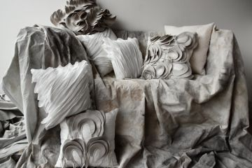 From haute couture to homewares: Fashion designer Toni Maticevski releases range of stylish cushions