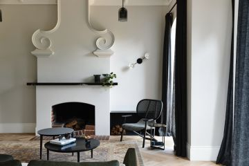 The best ways to update an old fireplace