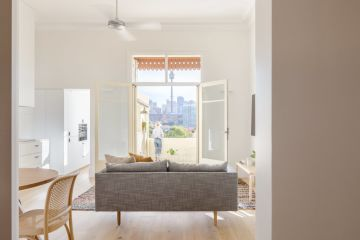 How a 'dingy' basement was transformed into a light-filled pied-a-terre