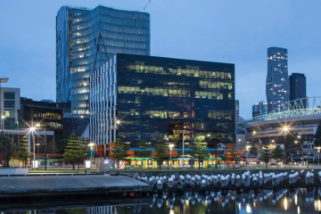 Docklands office duo hits the market