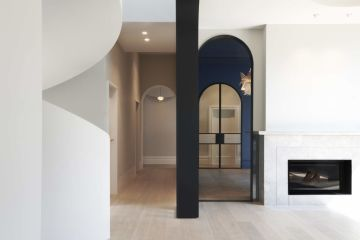 A little curve crazy? The ultra-elegant reno that's all arches