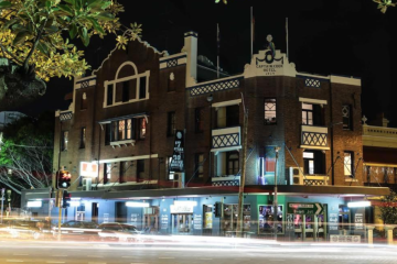 New owners of Paddington's Captain Cook Hotel wait for footy stadium to finish