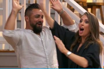 The Block 2021 bathroom reveal recap: The twins are left fuming after Ronnie and Georgia steal a win