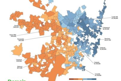Mapping the market: Which Sydney suburbs fall above or below the million-dollar price tag?