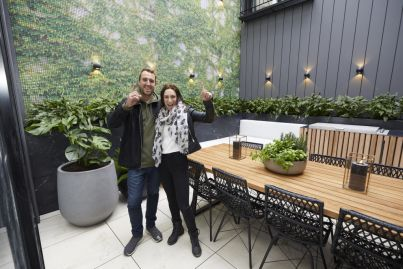 'It's too literal and looks tacky': Interior designers react to The Block courtyards