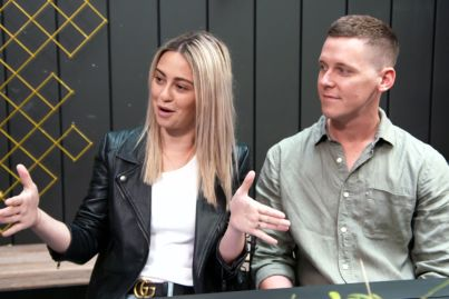 Tess and Luke's 'big risk' ahead of studio reveals on The Block