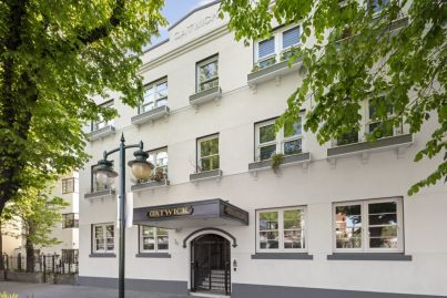 Two empty shell units in The Block's Gatwick Hotel for sale