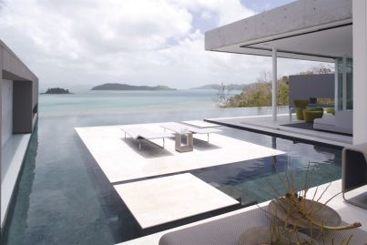 The island hideaway that disappears into its tropical landscape