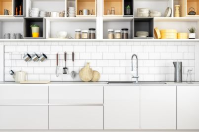 Four new habits to keep the kitchen clean now you're always at home