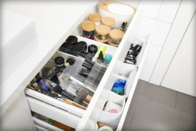 Six steps to organising the most disorganised area in your home