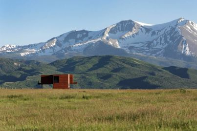 This epic shipping container home is isolation heaven