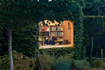 Ivy-clad writer's shed is an 'antidote' to overpopulated workplaces