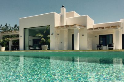 Ibiza villa listed with $15m+ hopes offers two pools and nightclub vibes
