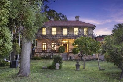 Balmain's largest privately held estate listed for $11m