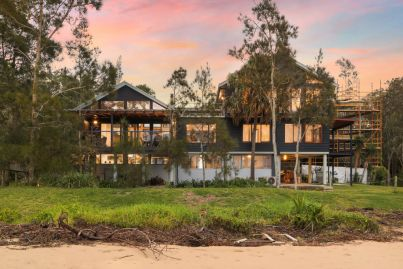 The Pearl Beach family residence with hopes of smashing the suburb record